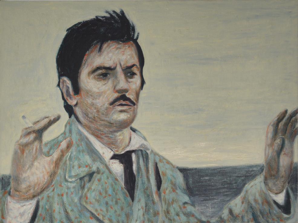 Andrea Salvino, I senza nome, 2004, olio su tela