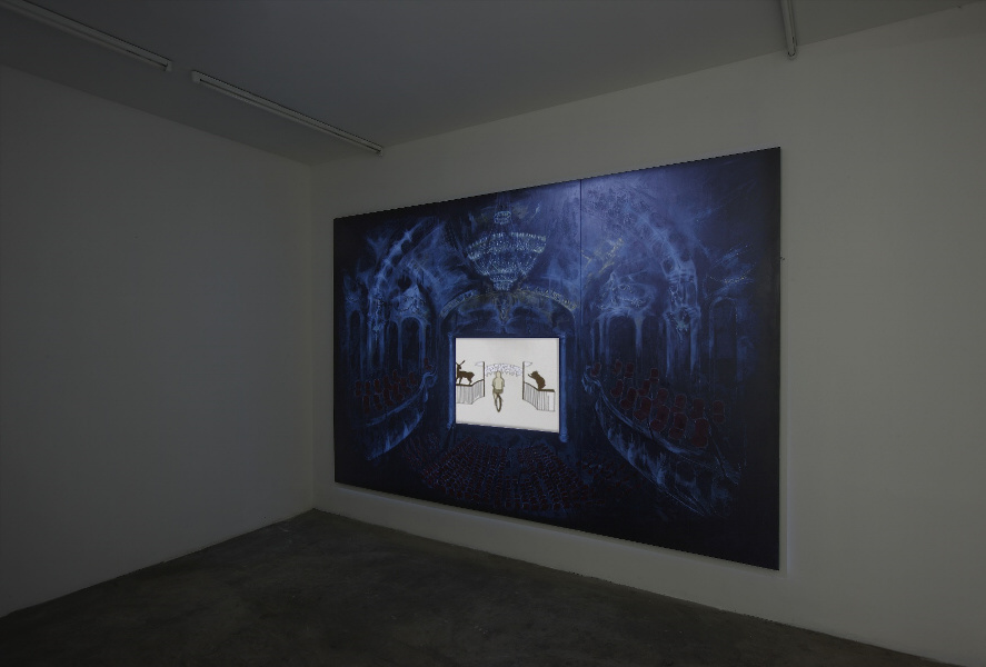 Avish Khebrehzadeh ,Whispers in the Ears of Silence and the Wind ,installation view