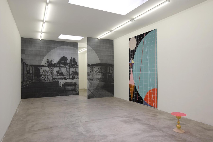 Claudia Wieser ,Furniture , exhibition view