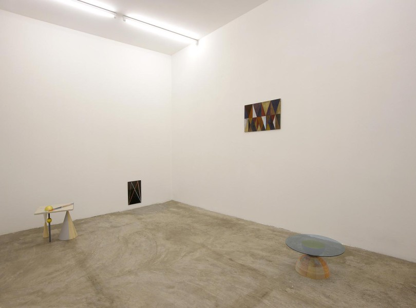 Claudia Wieser , Furniture , exhibition view