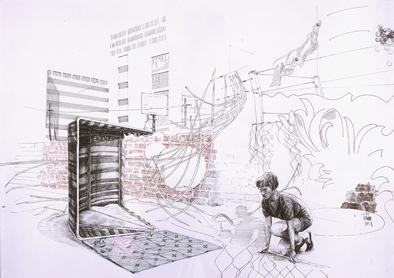 Kerstin Kartscher , to minimize one's exposure, 2007