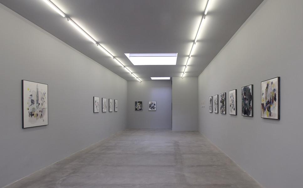 Matti Braun , Sola , installation view