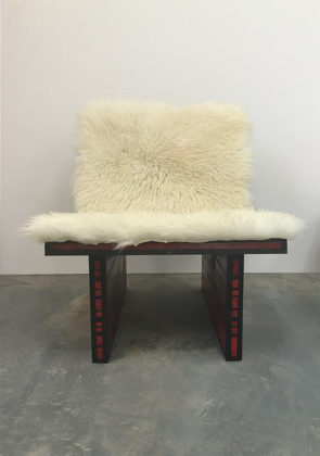 Richard Woods , Red Chair ,  2015