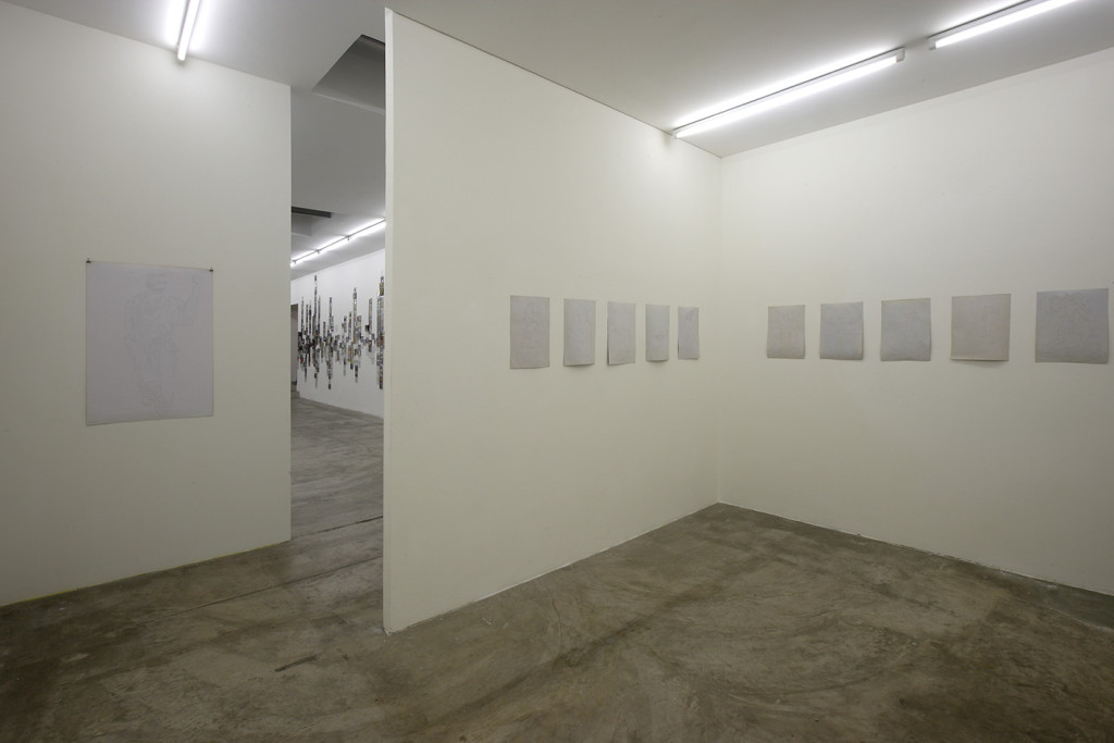 Stefano Arienti. Ragamala. exhibition view