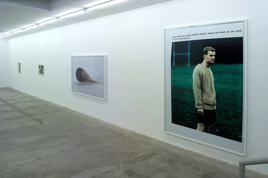 Wolfgang Tillmans., All the Time , exhibition view