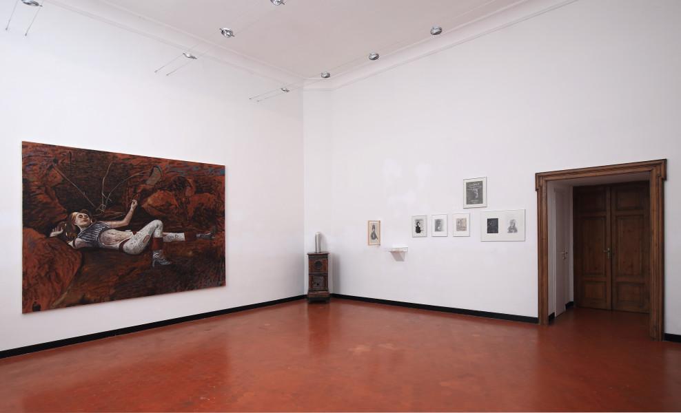 Andrea Salvino, Troppo presto, troppo tardi, installation view at Studio SALES di Norberto Ruggeri, Roma,2015.b